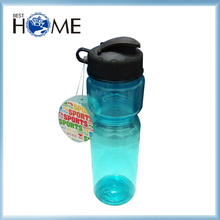 750ML Cheap Travel Clear PET Drinking Sports Water Bottles Plastic