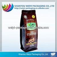 plastic bag for tea packaging /green tea bag /back seal and side gusset plastic bag