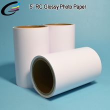 Fast Dry Minilab Digital Color Photo Paper Roll 12.7cm 15.2cm 20.3cm x 65m Roll Fuji Photo Paper Prices