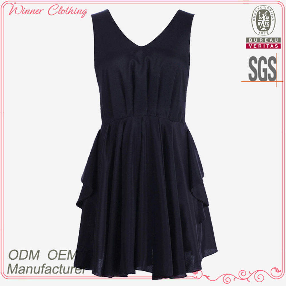 Hot selling high quality best price ladies fashion smart sexy names of girls dresses