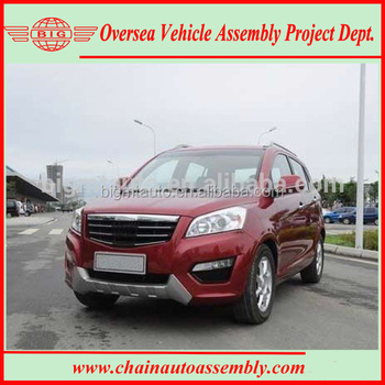 Advanced Technology Gasoline/Petrol Engine 2WD New SUV Automobile