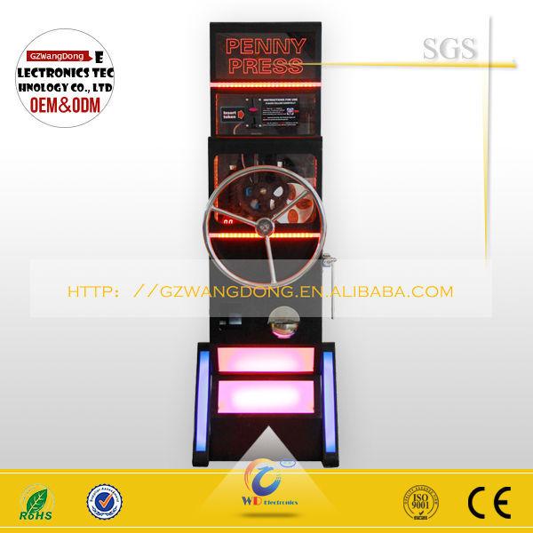 souvenir coins machine