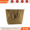 Brown kraft paper tote bags,Wholesale brown washable kraft paper tote bag