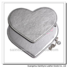 Promotion Gift Sweet Heart Lovely PU Mouse Pad 002B
