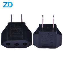 Female to male electrical plug power adapter