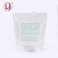 Market Promotion Item Spout Doypack Clear Packaging Bags For Liquid