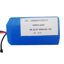 22.2v 6S 3300mah lipo battery 5000mah 6s li polymer rechargeable 10C rc battery pack