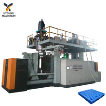 60kw Heating power multi-purpose nine foot plastic tray blow moulding machine
