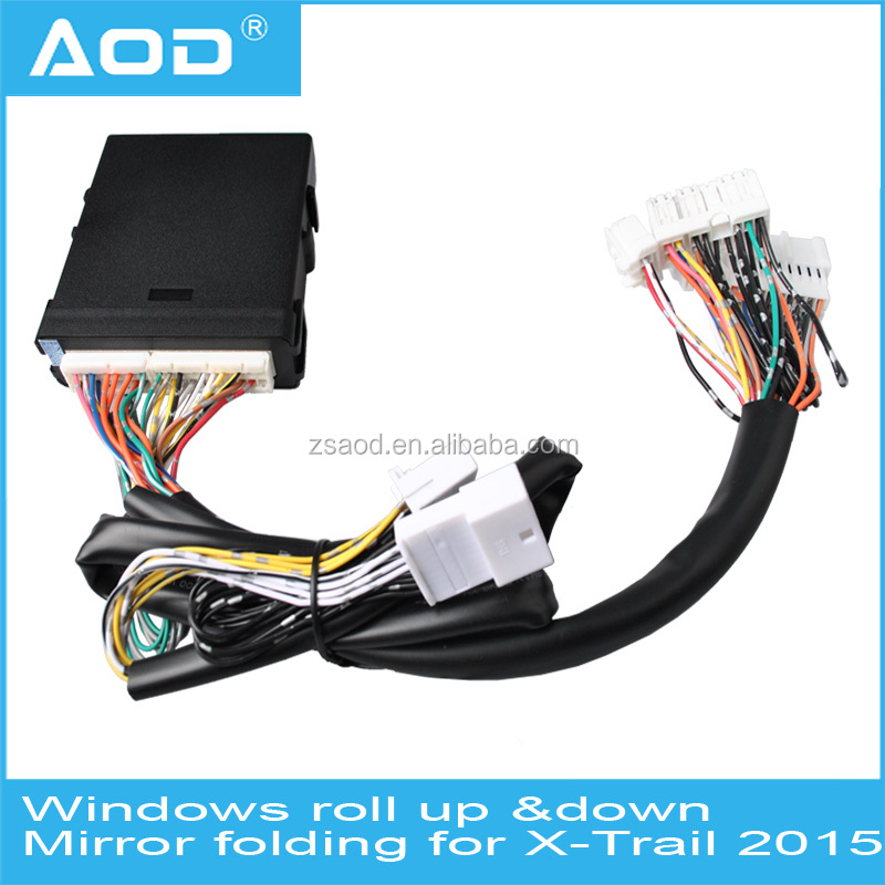 Power window closer/window roll up roll down mirrow folding for Nissan X-Trail 2015