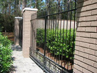 designs for homes wrought iron fence final of rod iron fencing