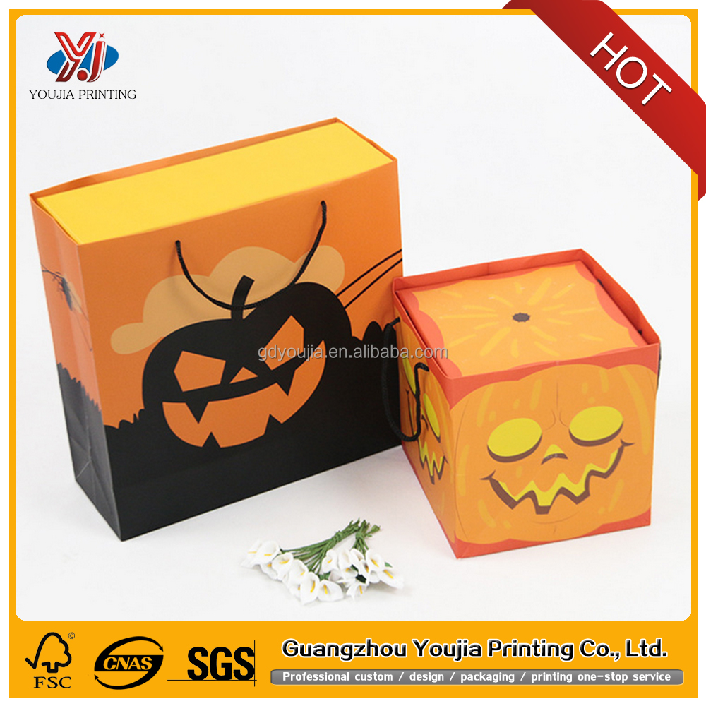 Halloween gift packaging box