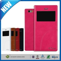 C&T New arrival luxurious flip leather cell phone case for apple iphone 6 plus leather case