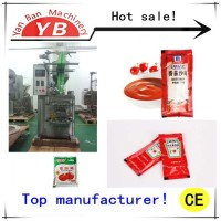 Hot sale YB-150J automatic viscous liquid / paste filling packing machine