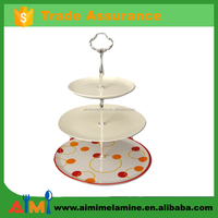 100% melamine Multi-Layer Cake Stand