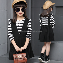 baby confitable cotton girl two piece set dress