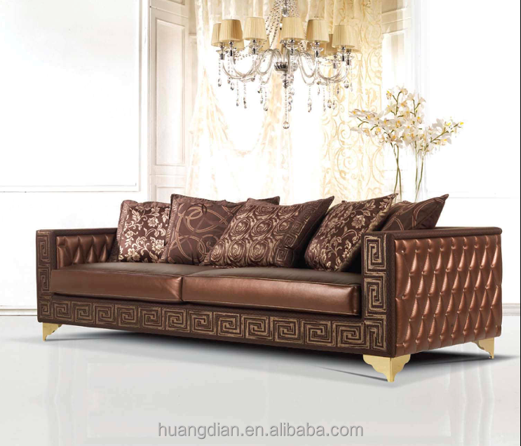 Antique leather sofa design modern bedroom furniture for Classic furniture products vadodara