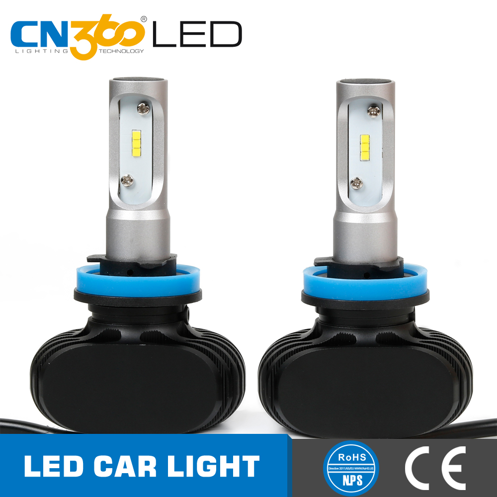 New design all in one plug and play mini 4000lm h11 cn360led headlight