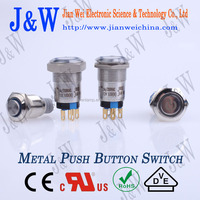 Stainless Steel or Brass push button switch