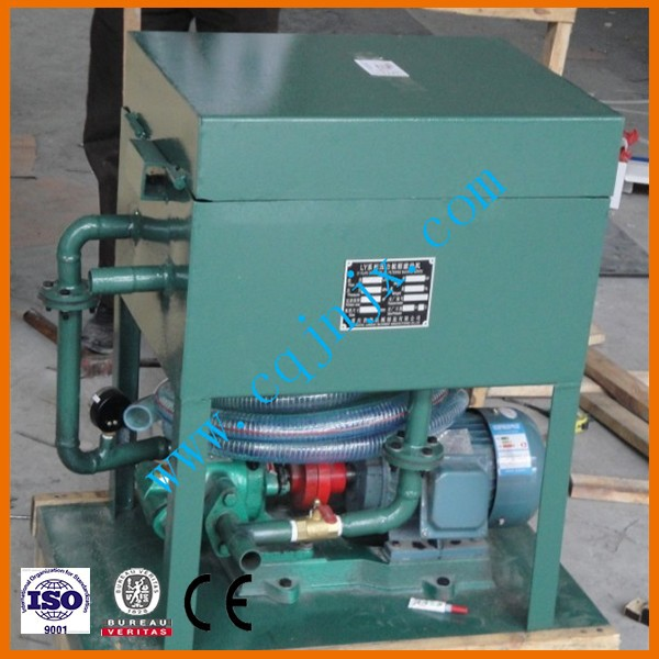 LY-50 PLATE PRESSURE OIL PURIFIER SERIES portable oil filter