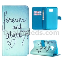 Forever and Always Wallet Leather Coversfor Samsung Galaxy Note 5