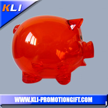 Fashional large plastic piggy bank for kids