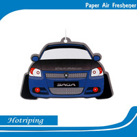 Factory directly OEM aroma car air freshener paper