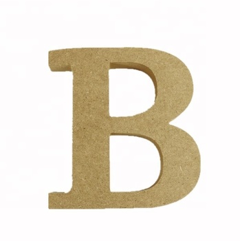 "Cheap Wooden Letters Natural 6""' MDF 26 Letters"