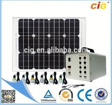 Passed SGS High Efficiency solar energy 220v home system