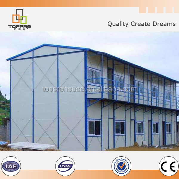 Modern economic light steel moveable house for Africa Standard