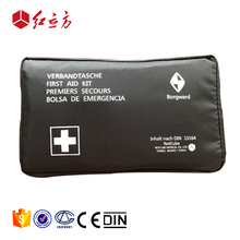DIN13164 waterproof compact auto motorcycle car road emergency medical bags first aid kit set