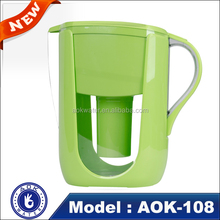 2016 Hot sell alkaline water filter pitcher for office use