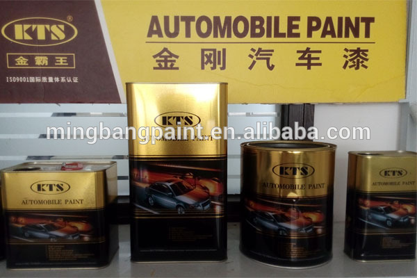 2K acrylic automotive lacquer paint