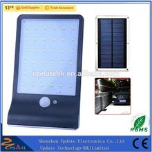 Chinese Supplier 450lumens 36led Wall Mounted Wireless Motion Sensor Security Outdoor Solar Wall Light