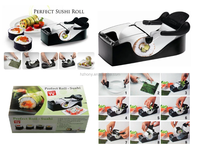 Magic Kitchen Gadget Perfect Easy Roll Sushi Maker Machine Black