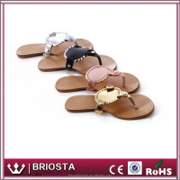 Wholesale Fashion Customized Monogrammed Beach Sandals