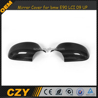 E90 carbon fiber Mirror Cover for bmw E90 LCI 09 UP