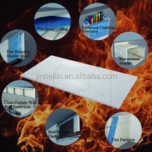 Girder cladding Fire rated exterior wall Calcium silicate board