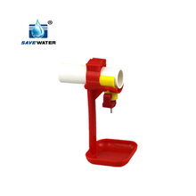 Automatic chicken drinker for birds poultry farm
