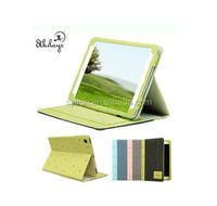 Hot sales Popular Cheap Leather Case Cover For Ipad Air with Fresh Color