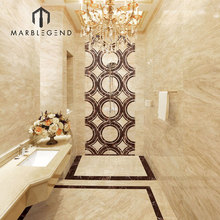 best selling product interior decoration Turkish Amasya Beige marble tiles