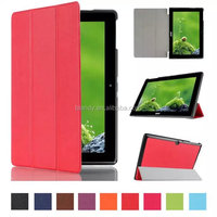 Good quality Folding Magnet smart stand wallet Leather Case For Acer Iconia Tab 10 A3-A30