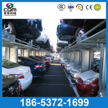 Custom 2 level car lift stack parker/ 2 post parking system