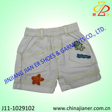 2014 new style woven fabric kid short pants wholesale kids shorts