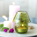mini lovely glass tealight candle holder glass lamp shade