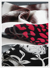 100% Polyester Manufacturer China Textile Burn Out Velvet Fabric Wholesale/ Home Textile