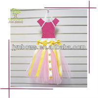High quality gift ribbons dress shaped bow holder hair bow display rack