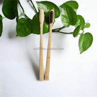 New products 2015 innovative yangzhou factory kids bamboo toothbrush