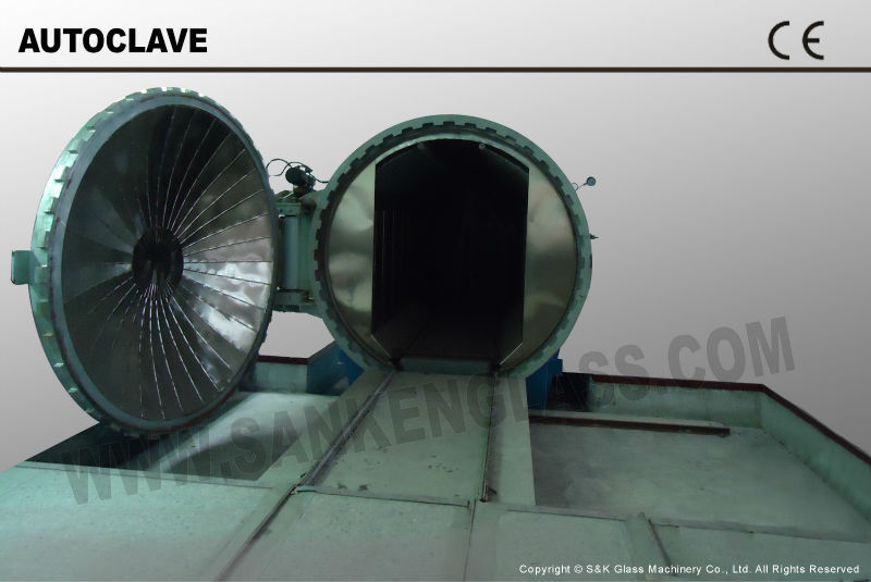 Laminated Glass Autoclave /Autoclave Glass Machine