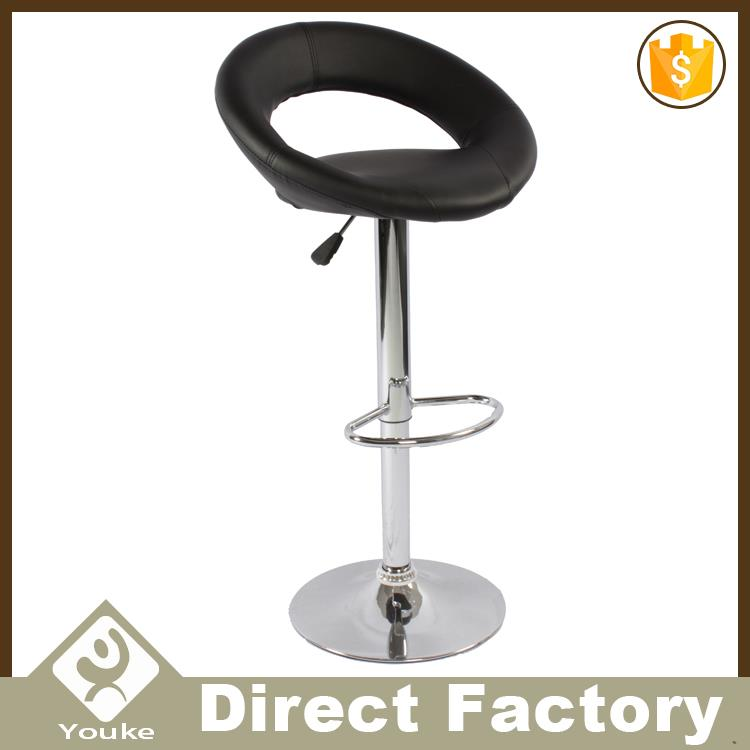 PU leather metal used bar stools hydraulic chairs