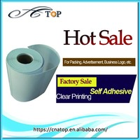Custom Printed Decorative Adhesive Blank Sticker Label